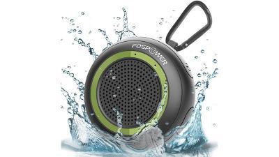 FosPower IPX7 Waterproof Floating Bluetooth Speaker