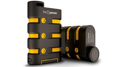 FosPower PowerActive 10200 mAh Power Bank – 2.1A USB Output [Water/Shock/Dust Proof] Rugged Heavy Duty Portable Battery Charger for iPhone/iPad, Android Smartphones, Tablets & MP3